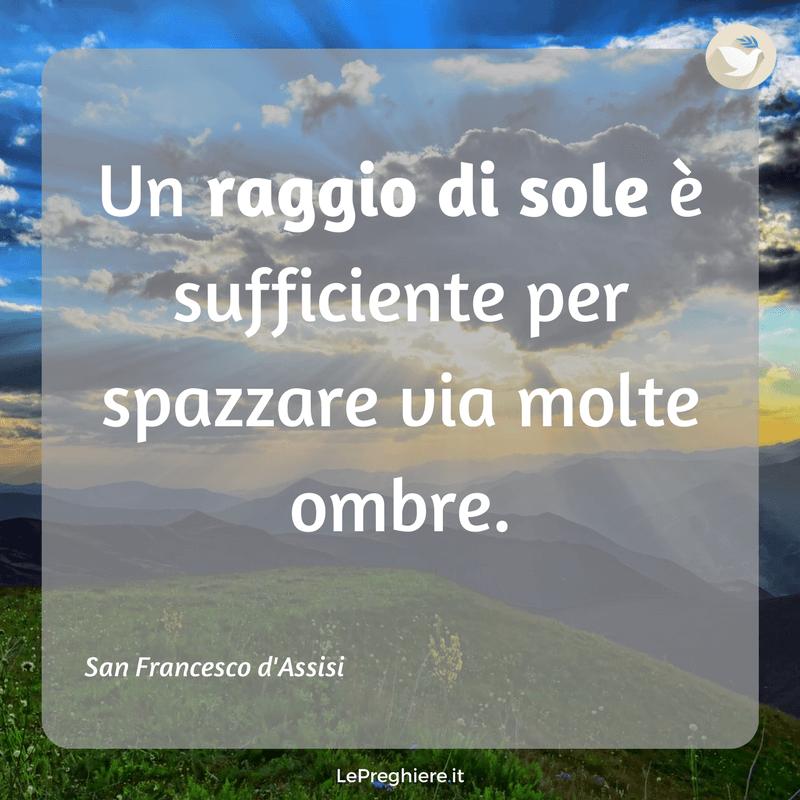 Frasi Di San Francesco D Assisi Pensieri E Immagini Le